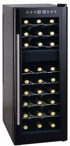 Cantinetta frigo porta 27 bottiglie a doppia temperatura 0 for Cantinetta frigo