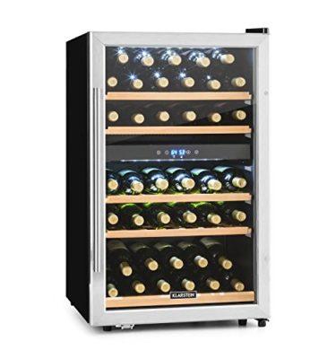 Cantina vino doppia temperatura Klarstein Vinamour 40D