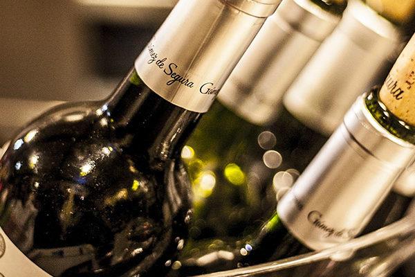 selezione bottiglie vino