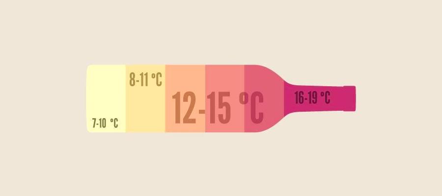 temperatura servizio vini